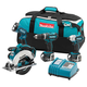 Makita LXT405 LXT 18V Cordless Lithium-Ion 4-Tool Combo Kit