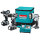 Makita LCT300W 18V Cordless Lithium-Ion 3-Tool Combo Kit