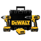 Factory Reconditioned Dewalt DCK265LR 18V Cordless Lithium-Ion 1/2 in. Compact Drill Driver and Impact Driver Combo Kit
