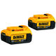 Dewalt DCB204-2 20V MAX XR 4 Ah Lithium-Ion Battery (2-Pack)
