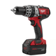 Milwaukee 2602-22 M18 18V Cordless Lithium-Ion 1/2 in. Hammer Drill Driver Kit