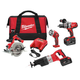 Factory Reconditioned Milwaukee 0928-89 M28 28V Cordless Lithium-Ion 4-Tool Combo Kit