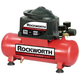 Factory Reconditioned Rockworth RWHD2NK-CP 0.3 HP 2 Gallon Oil-Free Hot Dog Air Compressor