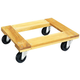 JET 140100 24 in. x 16 in. Flush End Hardwood Dolly
