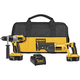Factory Reconditioned Dewalt DCK251XR 18V XRP Cordless 1/2 in. Hammer Drill and Reciprocating Saw Combo Kit