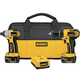 Dewalt DCK265L 18V Cordless Lithium-Ion 1/2 in. Compact Drill Driver and Impact Driver Combo Kit