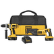 Factory Reconditioned Dewalt DCK241XR 18V XRP Cordless 1/2 in. Hammer Drill and Reciprocating Saw Combo Kit