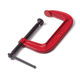 Wilton 51508 6 in. C-Clamp Carded, 0 in. - 6 in. Jaw Opening, 3-1/4 in. Throat Depth