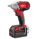 Factory Reconditioned Milwaukee 2652-82 M18 18V Cordless 1/2 in. Lithium-Ion Compact Impact Wrench Kit