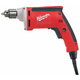 Milwaukee 0101-20 7 Amp 1/4 in. High-Speed Magnum Drill with QUIK-LOK Cord