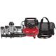 Porter-Cable PC3PAK Tradesman 2-1/2 in. Finish Nailer, 1-3/8 in. Brad Nailer, 1 in. Stapler and Compressor Combo Kit