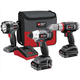 Porter-Cable PCL318IDC-2 Tradesman 18V Cordless Lithium-Ion 3-Tool Combo Kit