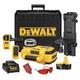 Dewalt DW079KD 18V Cordless Self-Leveling Interior/Exterior Rotary Laser Kit