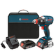Bosch IDH182-02 18V Cordless Lithium-Ion Brushless Socket Ready Impact Driver Kit with Soft Case