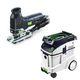 Festool P48561443 Trion Barrel Grip Jigsaw with CT 48 E 12.7 Gallon HEPA Dust Extractor