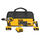 Dewalt DCK271L 18V XRP Cordless Lithium-Ion 1/2 in. Hammer Drill and Reciprocating Saw Combo Kit