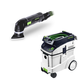Festool P48567856 Deltex Detail Sander with CT 48 E 12.7 Gallon HEPA Dust Extractor
