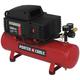 Factory Reconditioned Porter-Cable C2025R 0.8 HP 2.5 Gallon Oil-Free Hotdog Air Compressor