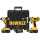 Factory Reconditioned Dewalt DCK245XR 18V XRP Cordless Hammerdrill / Impact Driver Combo Kit