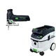 Festool PAC561443 Trion Barrel Grip Jigsaw with CT 36 AC 9.5 Gallon Mobile Dust Extractor
