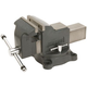Wilton 63300 WS4, Shop Vise, 4 in. Jaw Width, 4 in. Jaw Opening, 2-3/4 in. Throat Depth