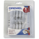 Dremel 692 6-Piece Router Bit Set