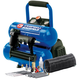 Campbell Hausfeld FP209599AV 1.0 HP 2 Gallon Oil-Free Twin Stack Air Compressor and 2-in-1 Brad Nailer/Stapler Kit