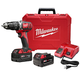 Factory Reconditioned Milwaukee 2607-82 M18 18V XC Lithium-Ion Cordless 1/2 in. Hammer Drill Driver Kit