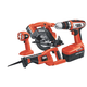 Black & Decker CD418C-2 18V Cordless 4-Tool Combo Kit