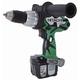 Hitachi DV14DL 14.4V Cordless HXP Lithium-Ion 1/2 in. Hammer Drill Kit (Open Box)