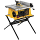 Dewalt DW744X 10 in. Portable Table Saw with Folding Stand
