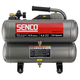 SENCO PC1131 2.5 HP 4.3 Gallon Oil-Lube Twin Stack Air Compressor
