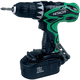 Hitachi DS18DVF3M 18V Cordless 1/2 in. Drill Driver Kit