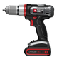 Porter-Cable PCL180DK-2 Tradesman 18V Cordless Lithium Drill Driver Kit