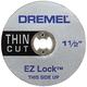 Dremel EZ409 1/2 in. EZ Lock Thin Cut Cut-Off Wheel
