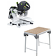 Festool PT3K561287 Kapex Sliding Compound Miter Saw with MT/3-Kapex Multi-Function Table
