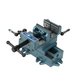 Wilton 11693 Cross Slide Drill Press Vise - 3 in. Jaw Width 3 in. Jaw Opening 1-1/8 in. Jaw Depth