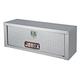 JOBOX 543980 47 in. Long Aluminum High Capacity Topside Truck Box (ClearCoat)