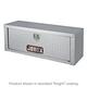 JOBOX 543982 47 in. Long Aluminum High Capacity Topside Truck Box (Black)