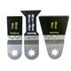 Fein 63502127040 MultiMaster 3-Piece E-Cut Blade Combo Pack