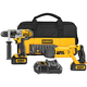Factory Reconditioned Dewalt DCK282D2R 20V MAX Cordless Lithium-Ion Hammer Drill and Reciprocating Saw Combo Kit