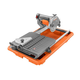 Factory Reconditioned Ridgid ZRR4030 7 in. Portable Job-Site Wet Tile Saw with Laser Cutline
