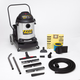 Shop-Vac 9624810 15 Gallon 2.5 Peak HP Stainless Steel FlipN'Pour Dolly Style Wet/Dry Vacuum