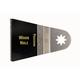 Fein 63502127020 MultiMaster 2-9/16 in. Precision E-Cut Blade (3-Pack)