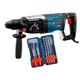 Bosch RH228VC-B 1-1/8 in. SDS-Plus Bulldog Rotary Hammer with 6 Piece Accessory Kit