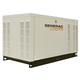 Generac QT03016JNSX Guardian Series Liquid-Cooled 1.6L 30kW 120/240V 3-Phase Natural Gas Steel Generator (CARB)