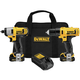 Dewalt DCK211S2 12V MAX 1.5 Ah Cordless Lithium-Ion 3/8 in. Drill Driver and Impact Driver Combo Kit