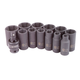 Sunex 3327 13-Piece 3/8 in. Drive SAE Mid-Depth Impact Socket Set
