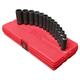 Sunex Tools 3682 13-Piece 3/8 in. 12-Point Metric Deep Impact Socket Set