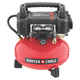 Factory Reconditioned Porter-Cable C2004-WKR 165 PSI, 4 Gallon Oil-Free Pancake Compressor with Hose and Accessory Kit